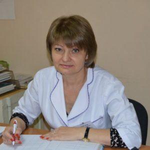Нестеренко  Надія Дмитрівна  лікар-терапевт вищої категорії, лікар-ендокринолог I категорії, Головний лікар