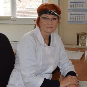 Сенкевич  Вікторія Юріївна  лікар-отоларинголог вищої категорії