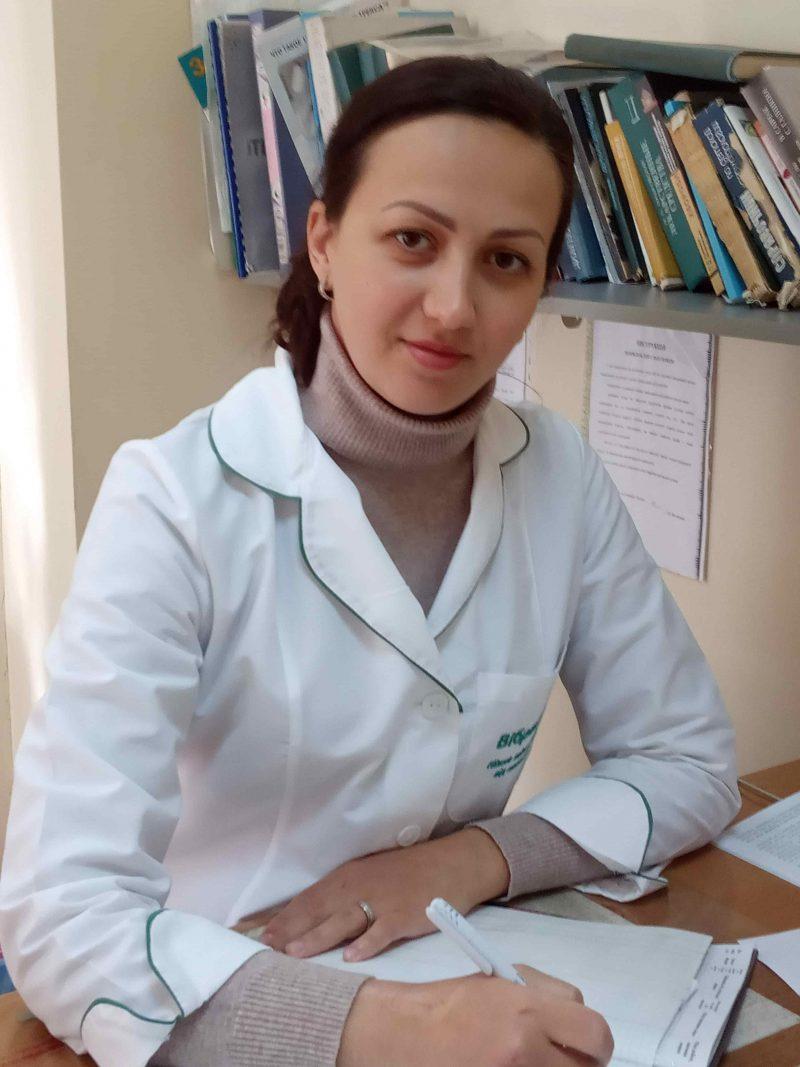 Лікар-дерматовенеролог Матвієнко Анна Григорівна